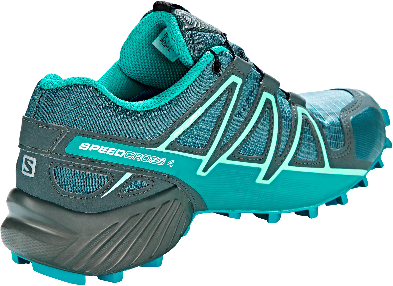 521deafb88a Salomon Speedcross 4 GTX - Chaussures running Femme - gris Bleu pétrole